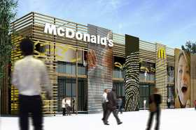 World's largest McDonalds at London Olympic Park
