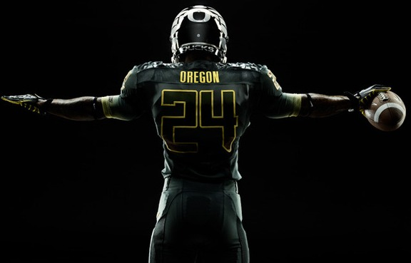 Oregon Star Wars uniforms Rose Bowl