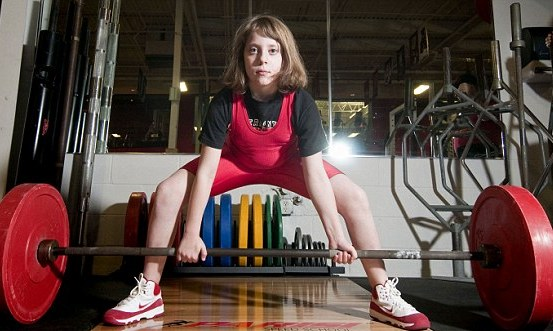 Naomi Kutin world record weight lifter