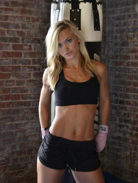 Rachel Wray Chiefs cheerleader to MMA fighter