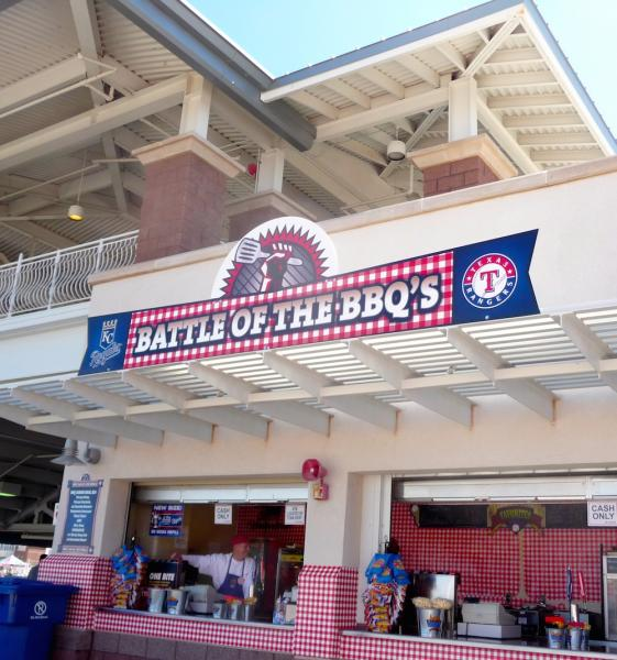 Surprise Stadium barbecue food