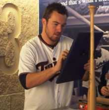 Phil Hughes at TwinsFest