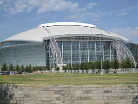 AT&T Stadium college football games