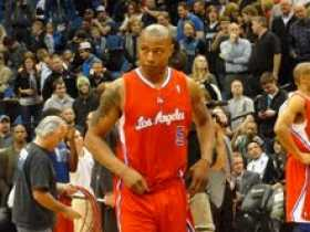 Caron Butler photo from courtside seats