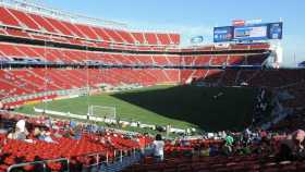 Levi's Stadium 165 luxury suites 8,500 club seats