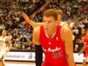 Blake Griffin photo from courtside seats