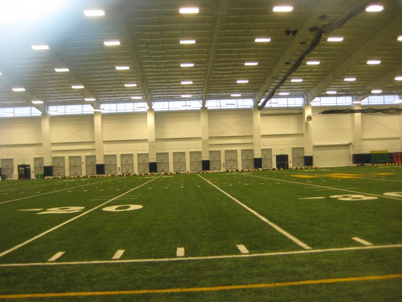 Highland Park High School $4.5 million indoor practice facility