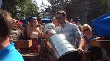 Nick Leddy's Day with the Stanley Cup