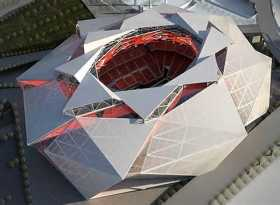 Falcons new stadium opening 2017 for $1.2 million