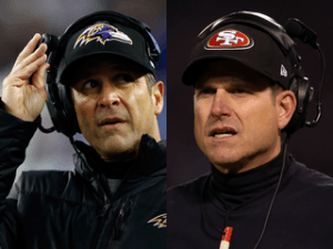 John & Jim Harbaugh Reached The Super Bowl Via Very Different Paths