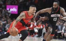 Rockets and Blazers Shared History