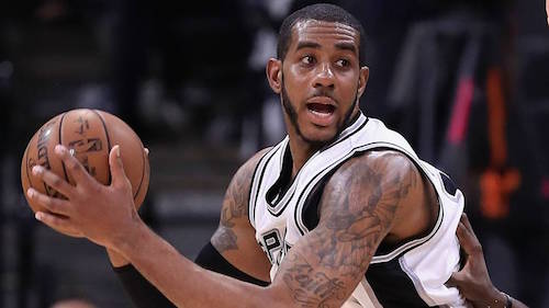 LaMarcus Aldridge at 2018 NBA All-Star Weekend