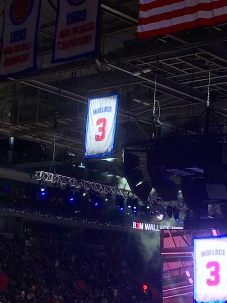 Ben Wallace Retired Jersey