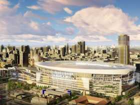 Chargers proposed stadium video