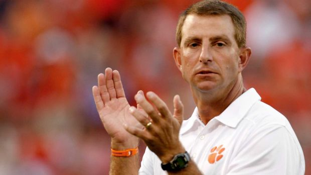 Dabo Swinney Alabama player and graduate