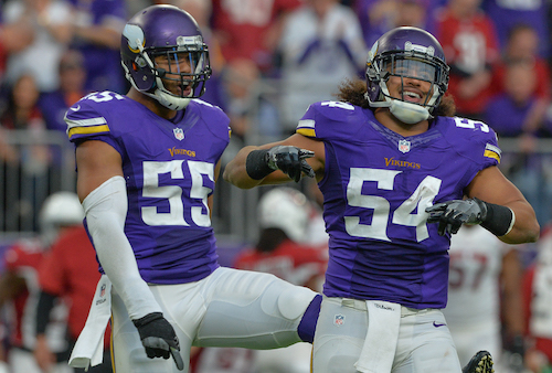 Minnesota Vikings and UCLA Alums Anthony Barr and Eric Kendricks Spotted At LA Restaurant