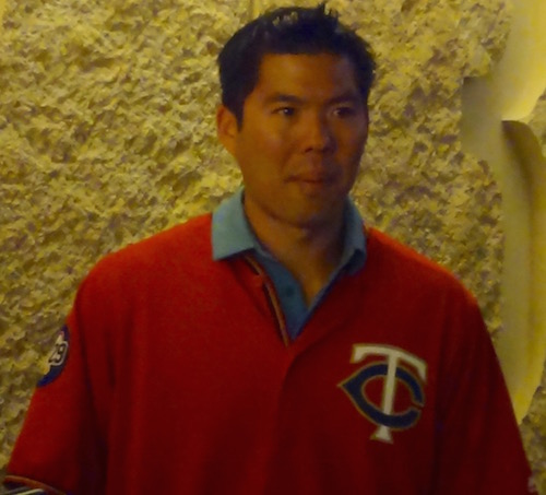 Kurt Suzuki At TwinsFest