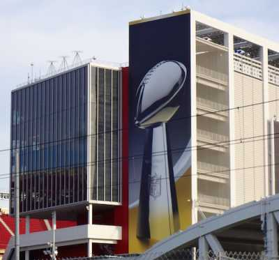 Levi's Stadium Super Bowl 50 Exterior