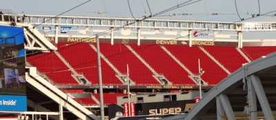The Super Bowl 50 Stadium Has Been Transformed (Photos)