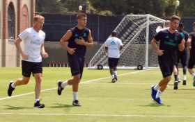 Real Madrid training at UCLA
