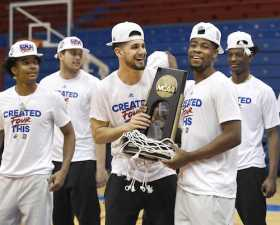 The Kansas Jayhawks Return Home To A Phog Allen Fieldhouse Celebration
