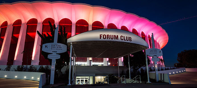 Lakers Refurbishing The Forum