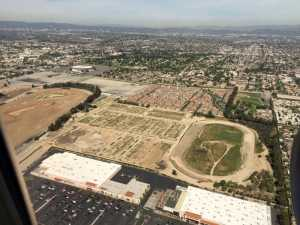 Aerial Photo LA NFL Stadium Land