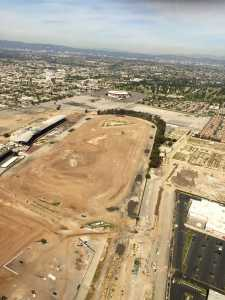 Aerial NFL LA Stadium Photos