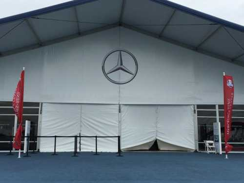 2016 Ryder Cup Mercedes-Benz Hospitality Tents