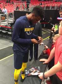 Thaddeus Young Signing Autographs