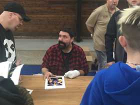 Mick Foley Signing Autographs In Ohio