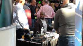 Vernon Davis At Super Bowl LII
