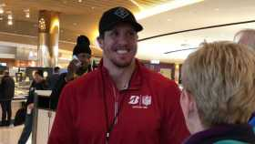 Chad Greenway At Super Bowl LII