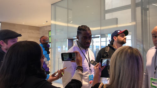 Robert Griffin III At Super Bowl LII