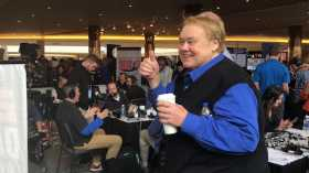 Louie Anderson At Super Bowl LII