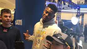 JuJu Smith-Schuster at Super Bowl LII