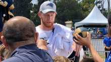 Johnny Hekker Signing Autographs