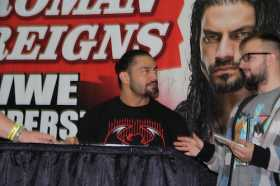 Video of Roman Reigns Signing Autographs