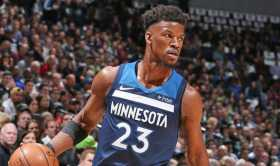 Jimmy Butler Spotted At Minneapolis LifeTime Athletic Club