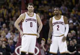 Kevin Love & Kyrie Irving Poor Defense