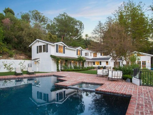 Justin Verlander and Kate Upton Beverly Hills home