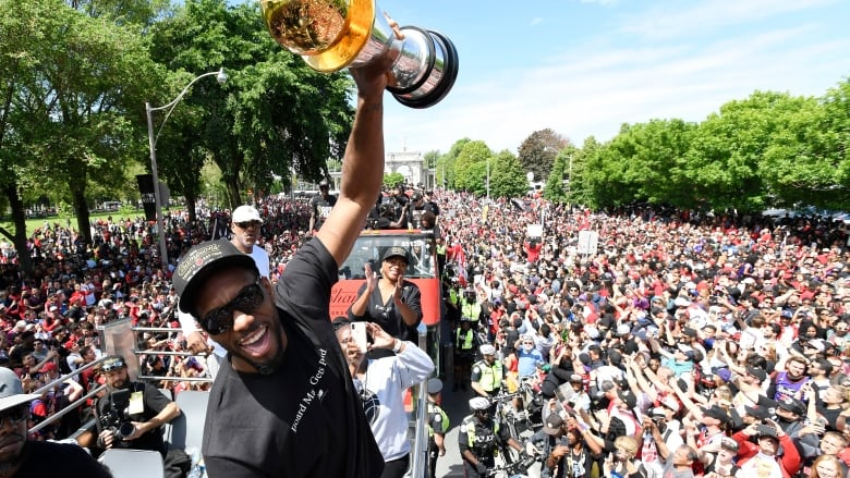 Video From The Toronto Raptors Victory Parade