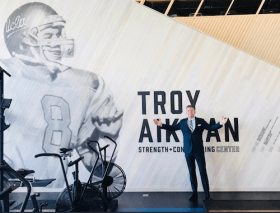 Troy Aikman Photo UCLA Campus