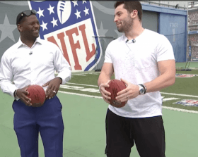 Baker Mayfield Versus LaDainian Tomlinson on NFL Network