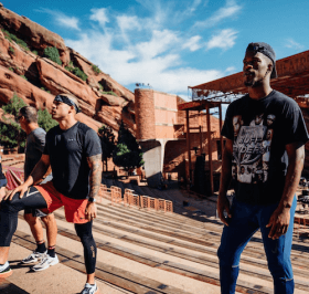 Jimmy Butler at Red Rocks Amphitheatre