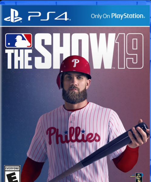 Bryce Harper and 2019 MLB The Show