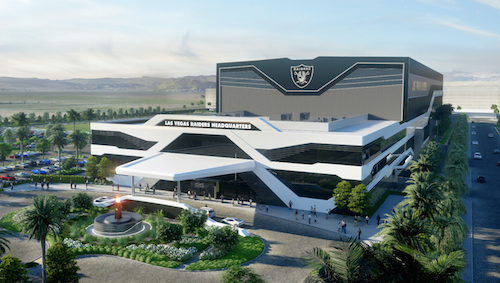 Raiders Las Vegas Training Facility