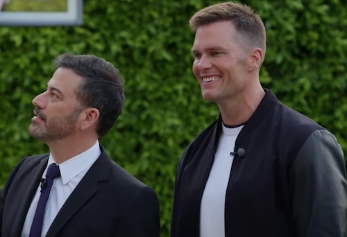 Tom Brady appearance on Jimmy Kimmel