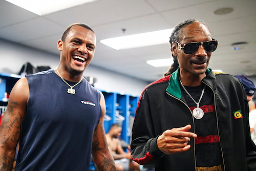 Snoop Dogg and the Houston Texans