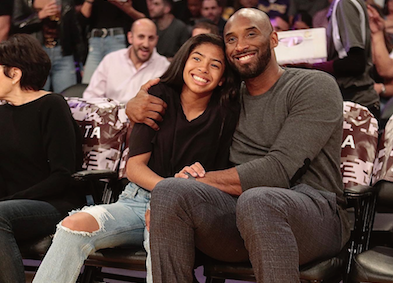 Kobe Bryant photo with daughter Gigi